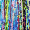 SOLD / Detail - Shimmer and breeze garden (2020) by Nestor Toro