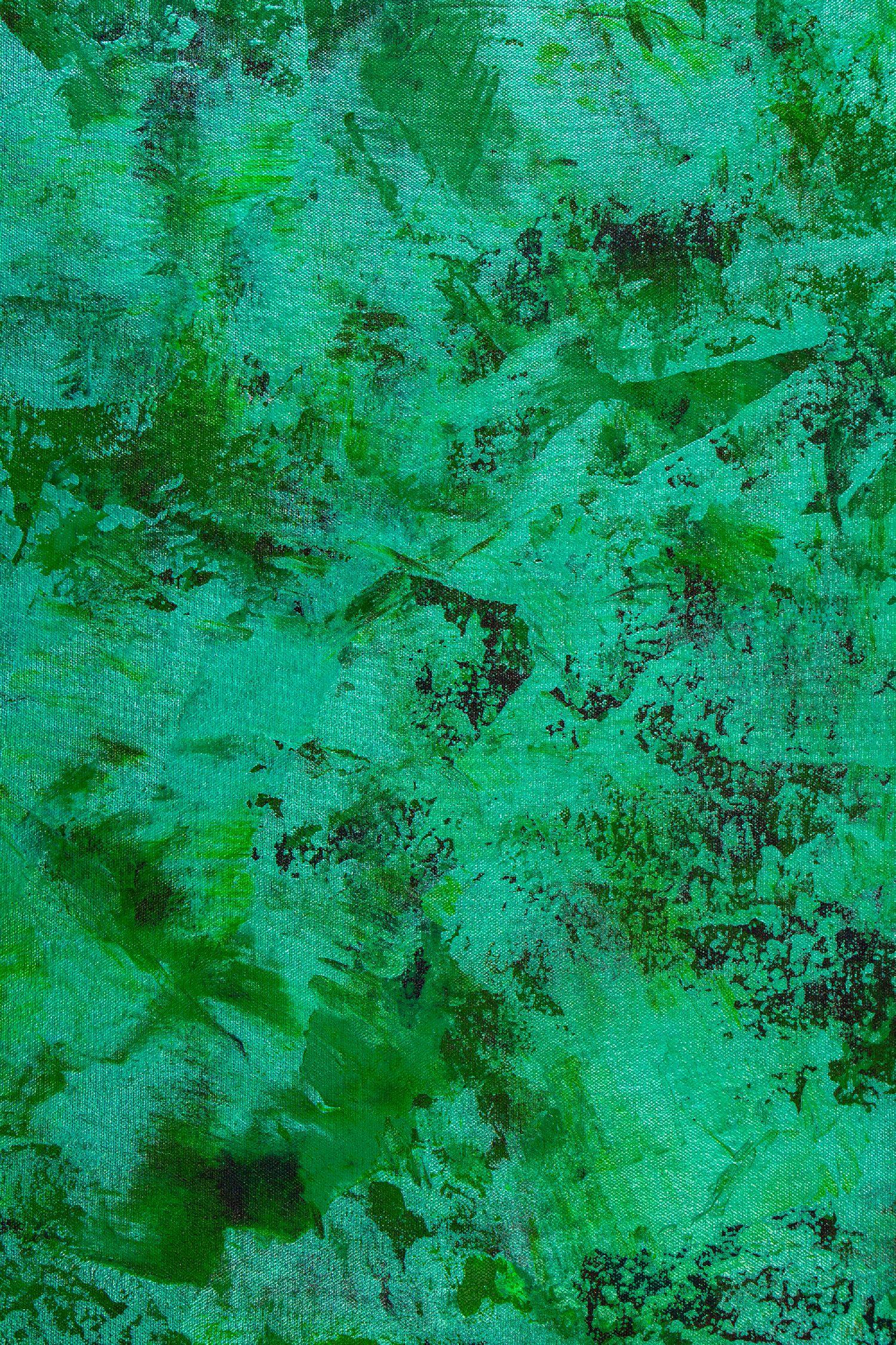 Detail - Verdor Spectra (Lush Greenery) (2020) / Nestor Toro