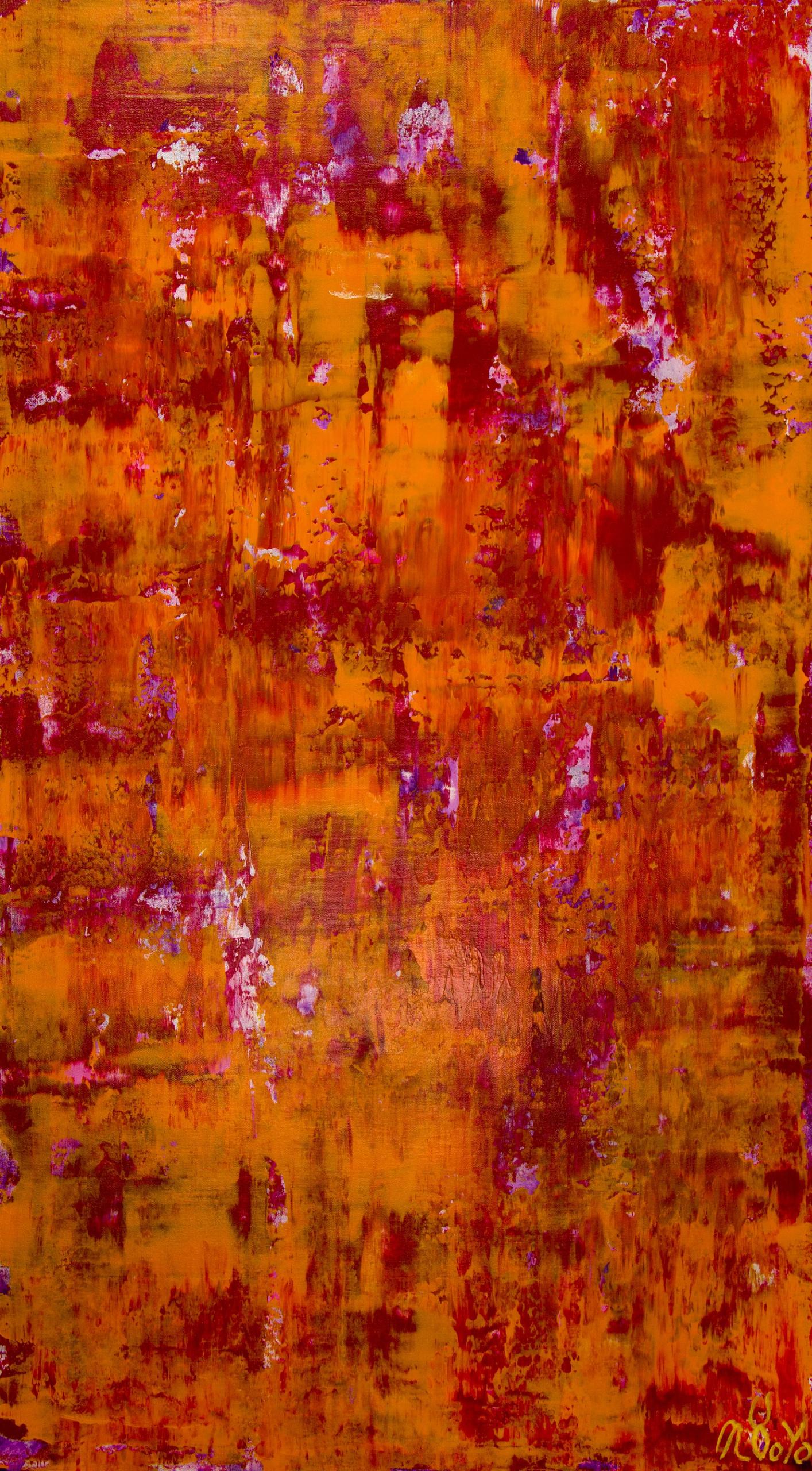 Fiery Dimensions (2020) by Nestor Toro