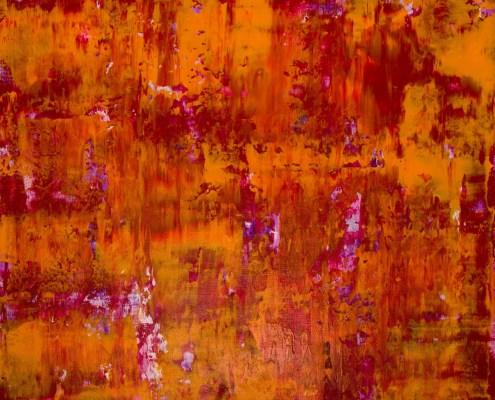 SOLD - Detail - Fiery Dimensions (2020) by Nestor Toro