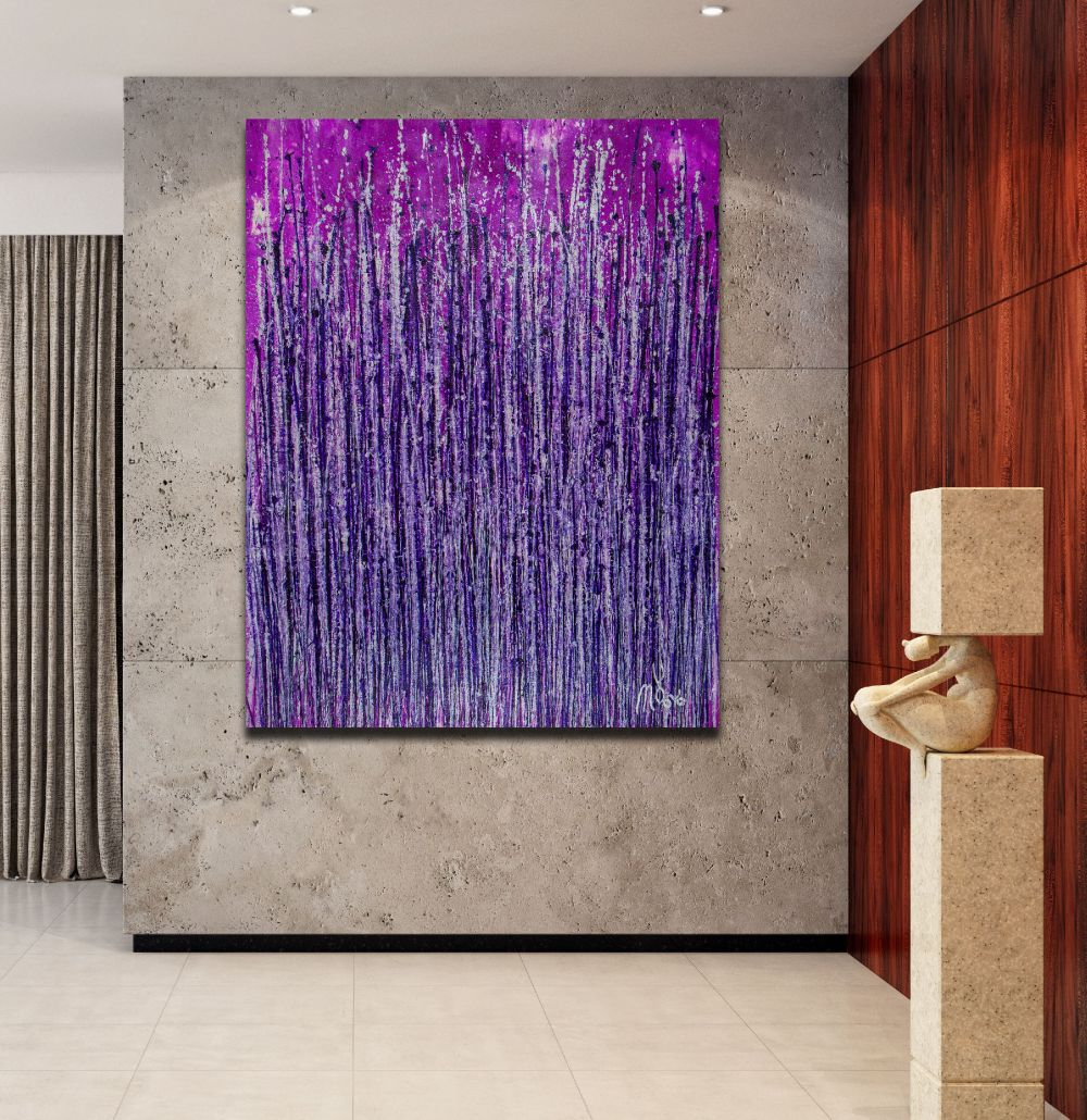 Lavish Purple Spectra (2020) by Nestor Toro