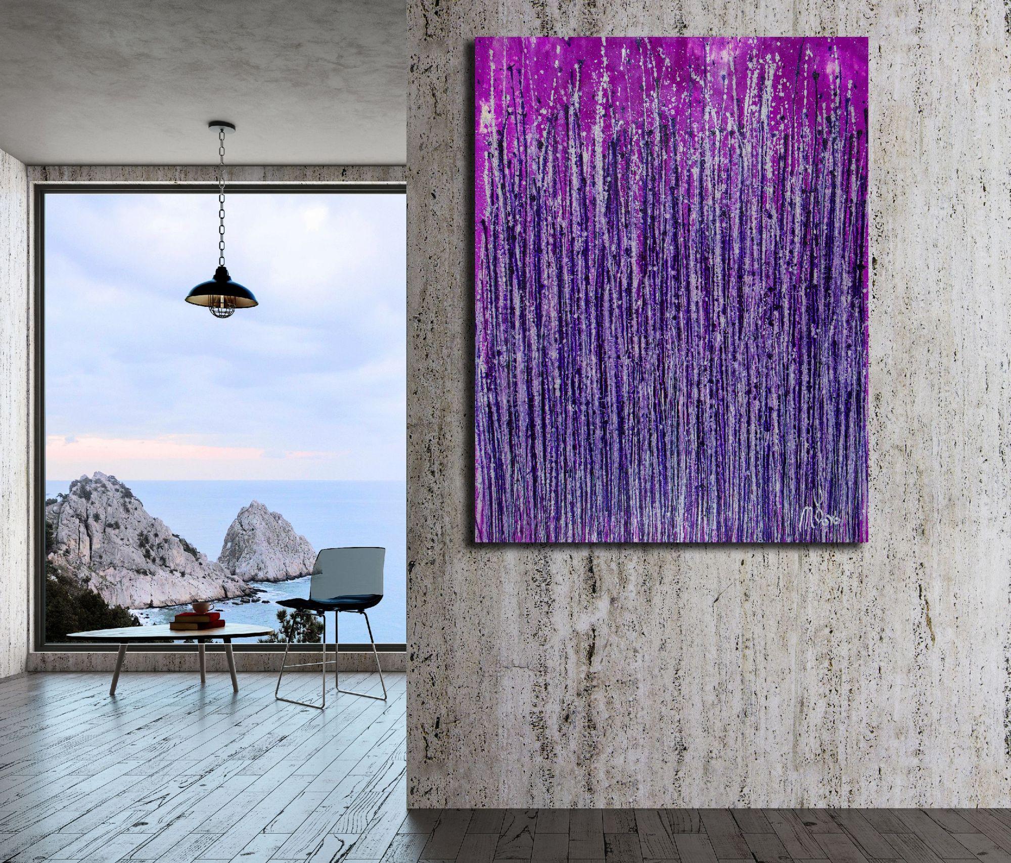 Lavish Purple Spectra (2020) by Nestor Toro