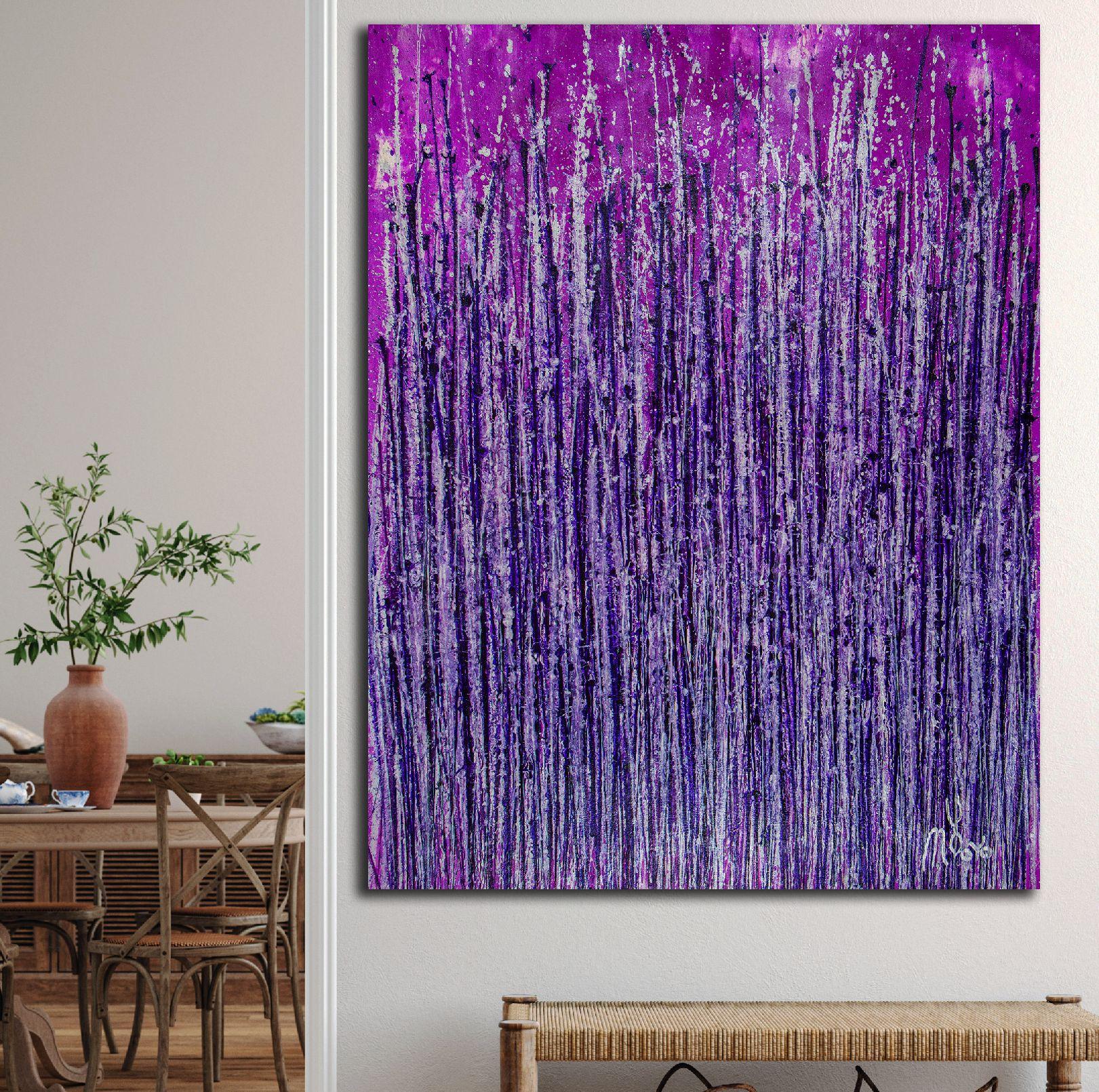 Room View - Lavish Purple Spectra (2020) by Nestor Toro