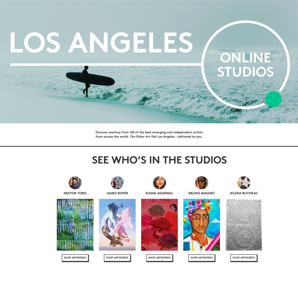 The Other Art Fair - Online Studios / 2020 Los Angeles