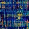 SOLD / Canvas #3 / Breeze Intrusion (Gold Cracks) 2020 / Triptych by Nestor Toro