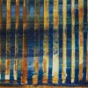 Detail - Orange Panorama (Blue Reflections) 2 (2020) by Nestor Toro