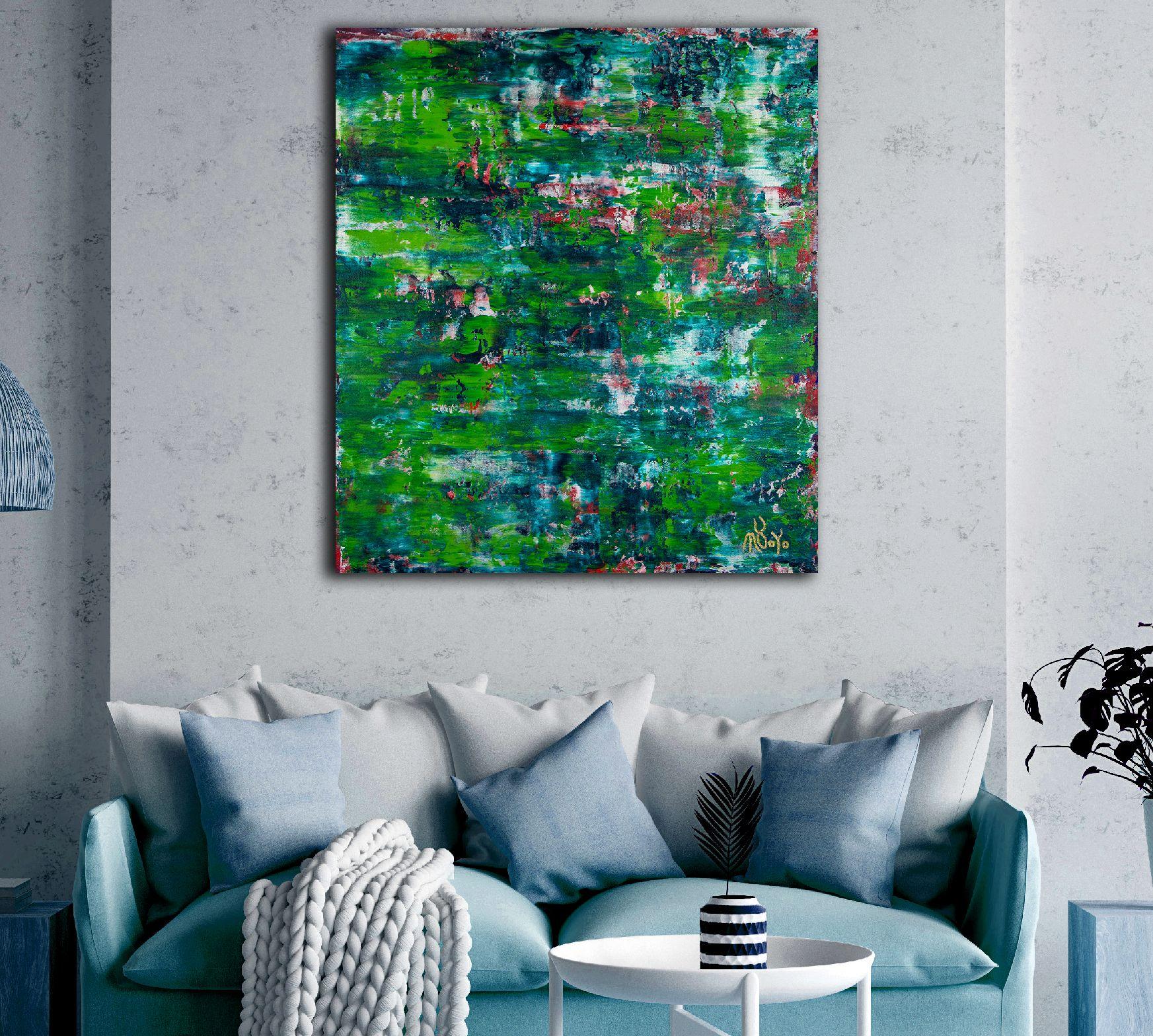Room View - Verdor Infinito 2 (2020) by Nestor Toro