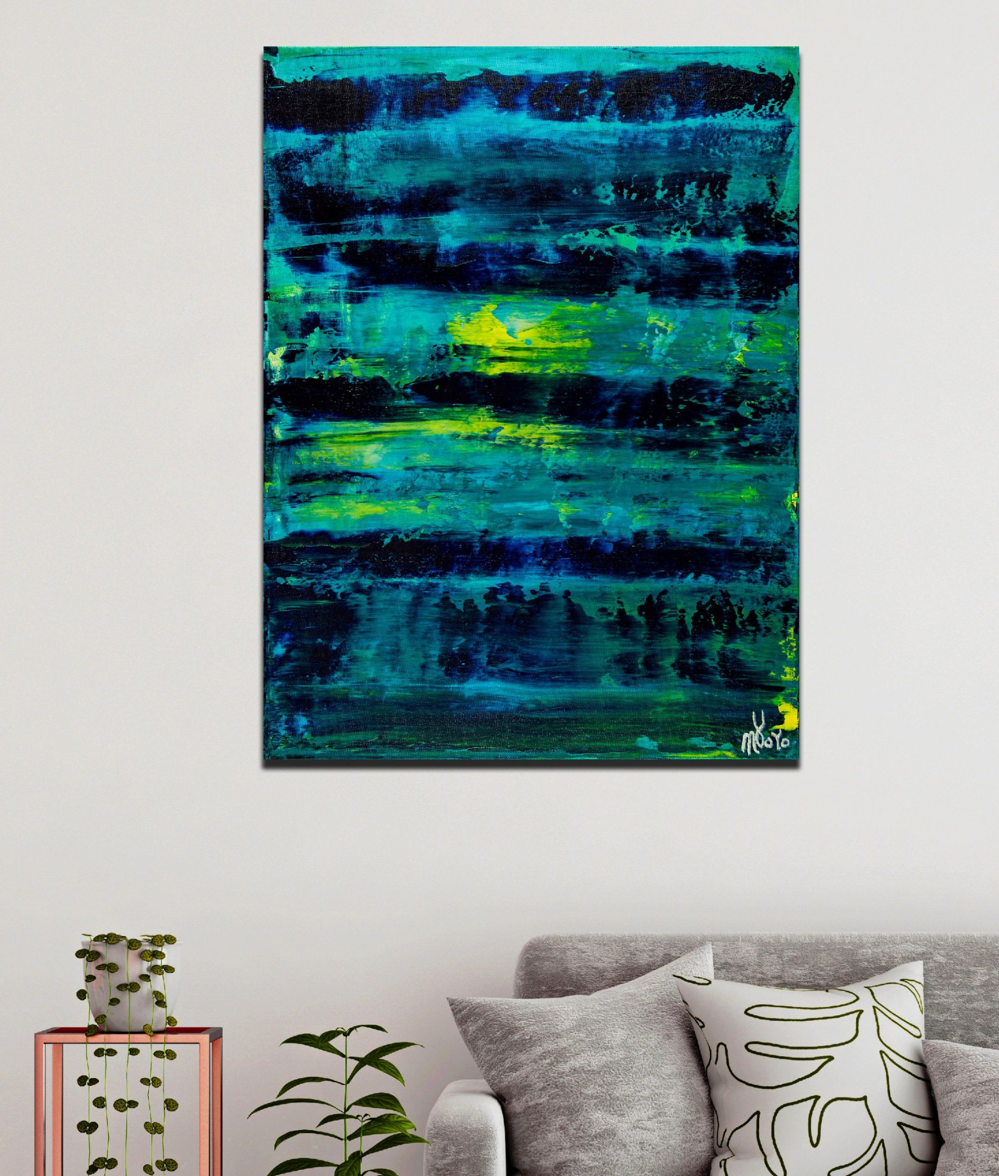 Room example / Emerald Forest Spectra 4 (2020) by Nestor Toro