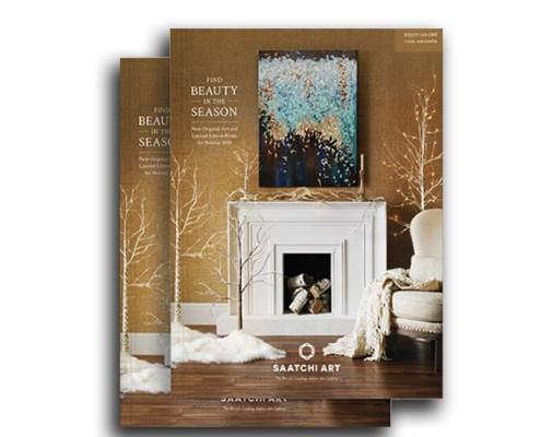 Saatchi Art 2020 Holiday Print Catalog with work by Nestor Toro