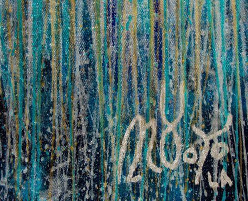 Signature Detail - December Storm (Shimmering Spectra) (2020) by Nestor Toro
