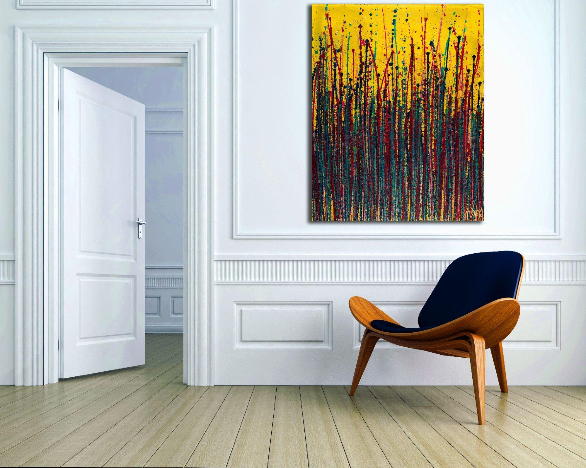 Room View - Garden In Motion 5 (2020) by Nestor Toro