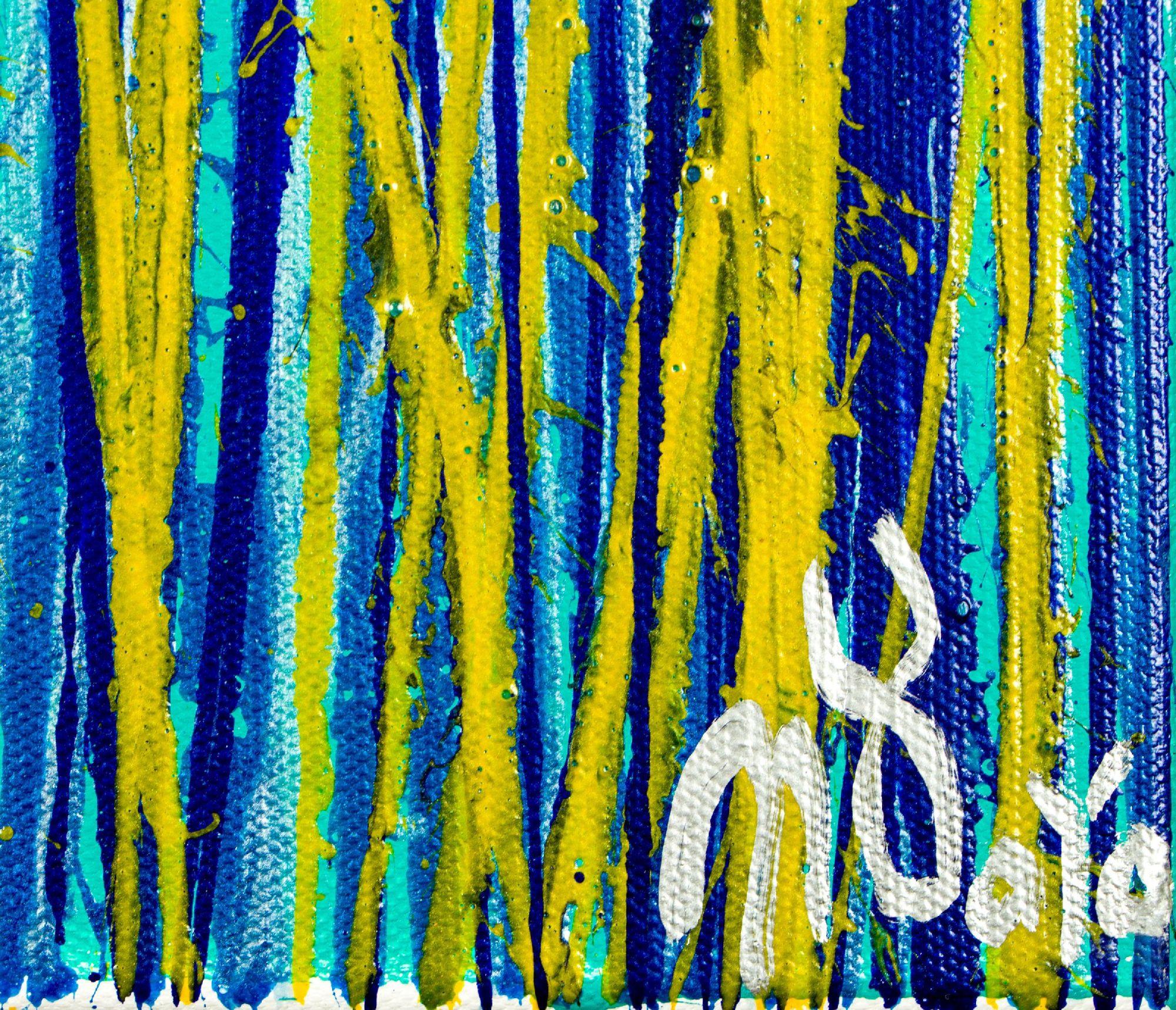 Signature / Vernal Garden (With Green) (2020) / Triptych