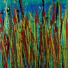 Natures Imagery (Scattering Colors) 1 (2021) / Triptych (Canvas 2)