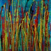 Natures Imagery (Scattering Colors) 1 (2021) / Triptych (Canvas 3)