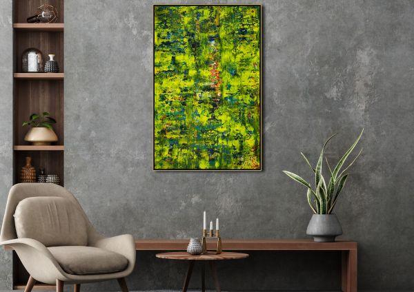 Room example - Spring glimmer (2021) by Nestor Toro