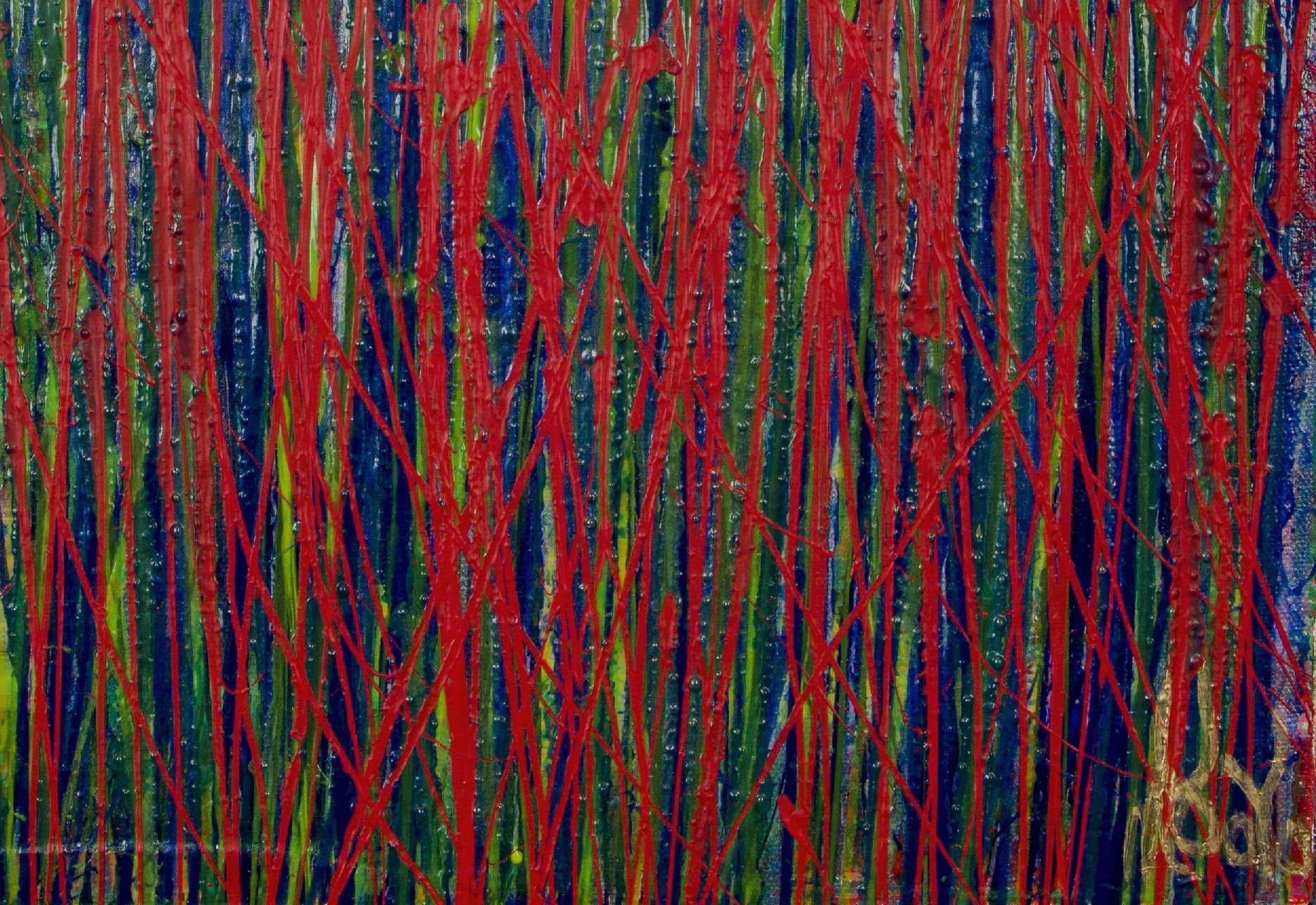 Signature - Like Nothing Else (Experimental Garden) (2021) 22x18 inches by Nestor Toro