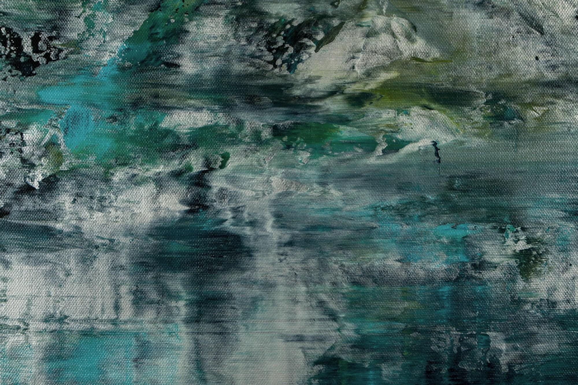 Detail / Waterflow (Night Clouds) / (2021) / Artist - Nestor Toro