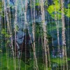 Green Forest (Silver Lights Intrusions) 2 (2021) / Detail / Artist: Nestor Toro