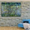 Green Forest (Silver Lights Intrusions) 2 (2021) / Room example / Artist: Nestor Toro