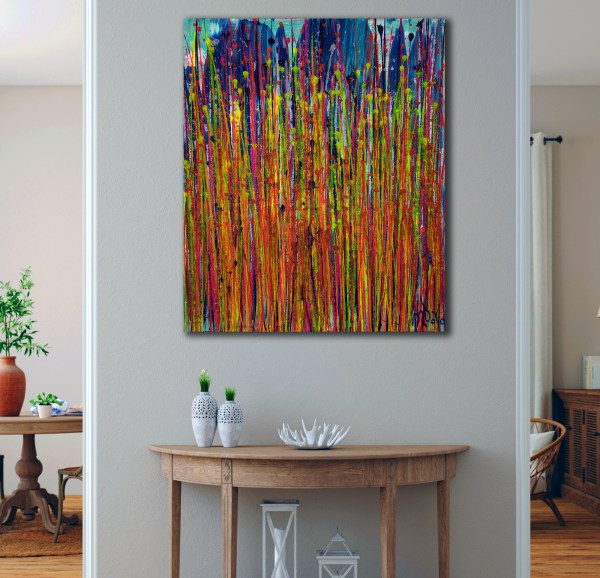 Daydream panorama (Natures Imagery) 32 (2021) / Room example / Artist: Nestor Toro