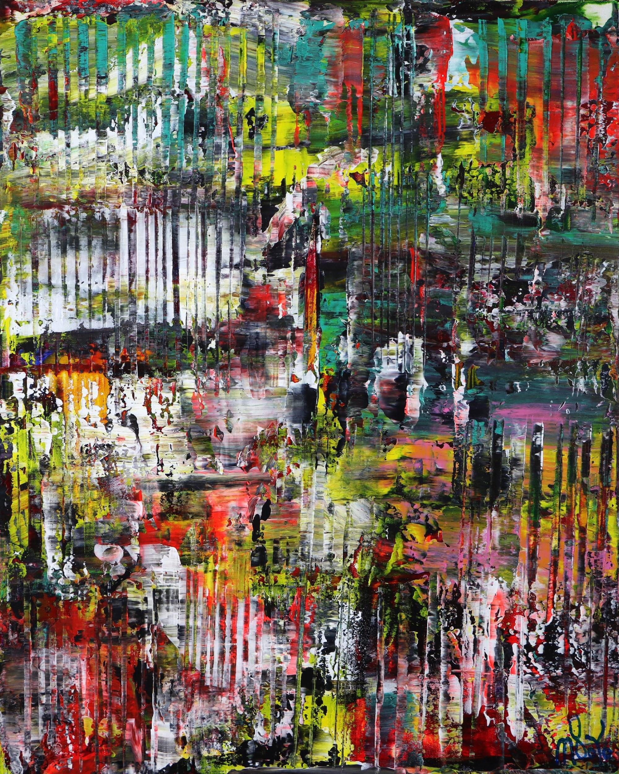 A Color Equation (2021) 24x30 in / Artist: Nestor Toro