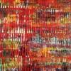 Infinitely Red (Color reunion) (2021) / 24x36 inches / Artist: Nestor Toro