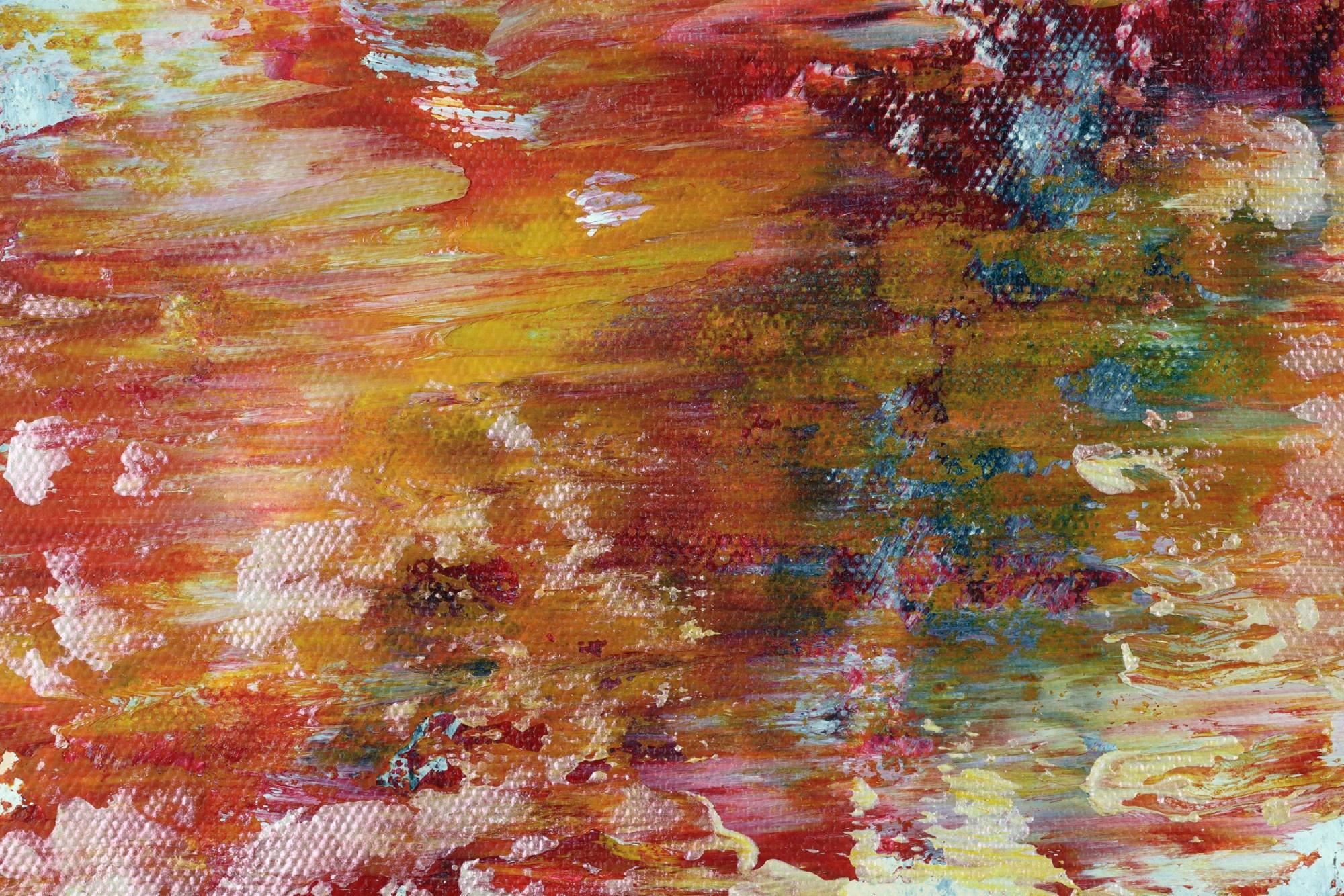 Somewhere in Between (Orange refractions) (2021) / Artist: Nestor Toro
