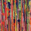 Detail / Daydream Panorama (Natures Imagery) 38 / 24x30 (2021) / Artist: Nestor Toro