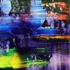 Blue Shade Panorama (Purple Radiance) (2021) / Detail / Artist: Nestor Toro