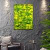 Summer Glimmer 2 (2021) / Room Example / Artist: Nestor Toro