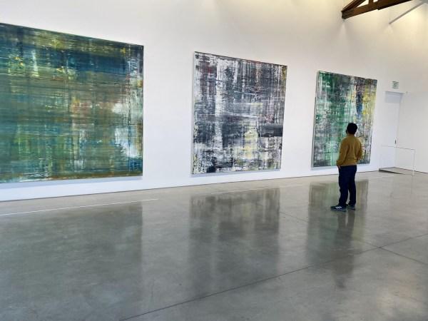 Artist Nestor Toro attending the Gerhard Richter: Cage Paintings Exhibition / Gagosian Gallery - Beverly Hills Dec 2020
