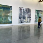 Artist Nestor Toro attending the Gerhard Richter: Cage Paintings Exhibition / Gagosian Gallery - Beverly Hills Dec 2020