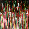 Drizzles Symphony 3 (2021) TRIPTYCH / CANVAS 2 / Artist: Nestor Toro