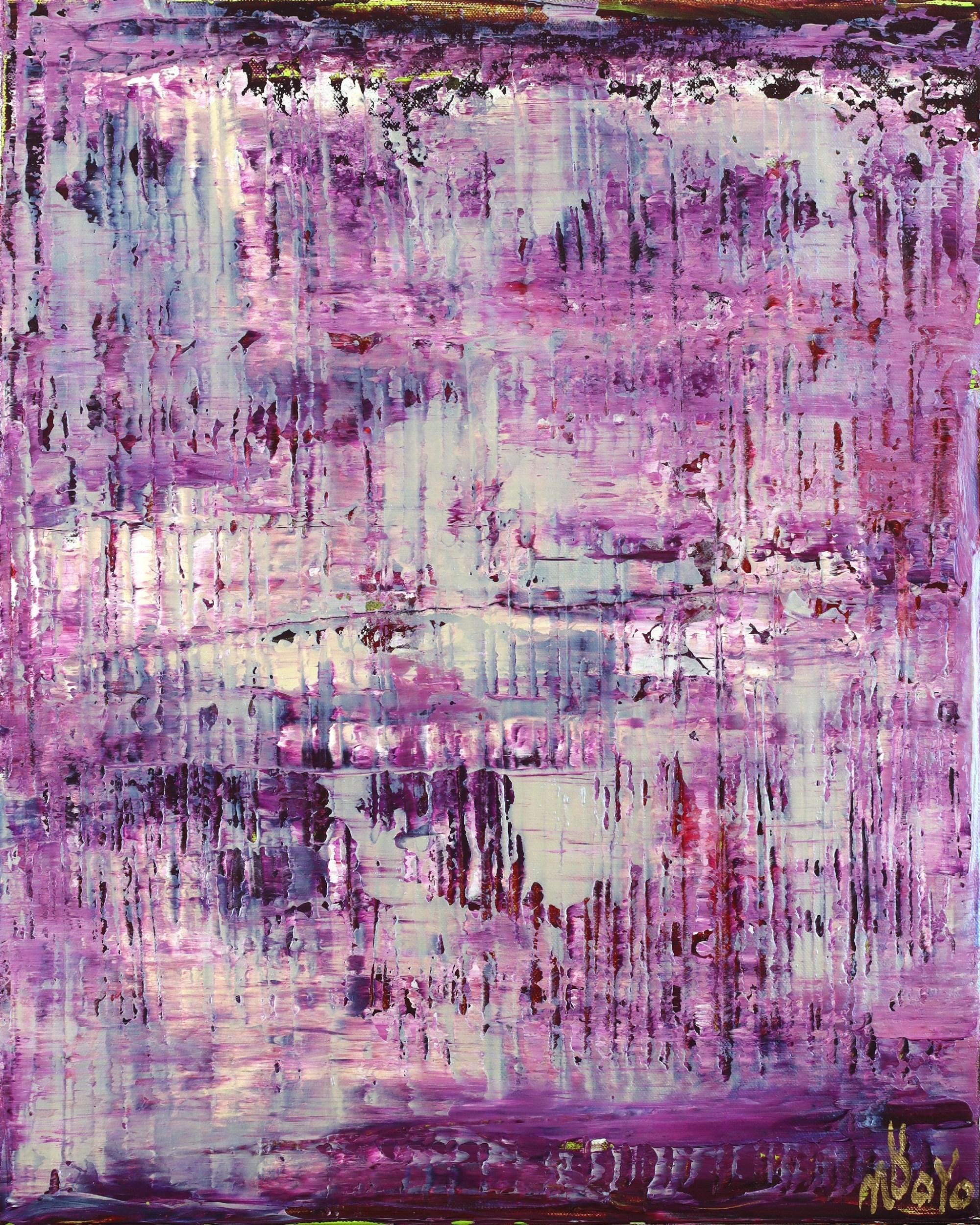 Purple Panorama (Changing Iridescent Blue) (2021) / Nestor Toro