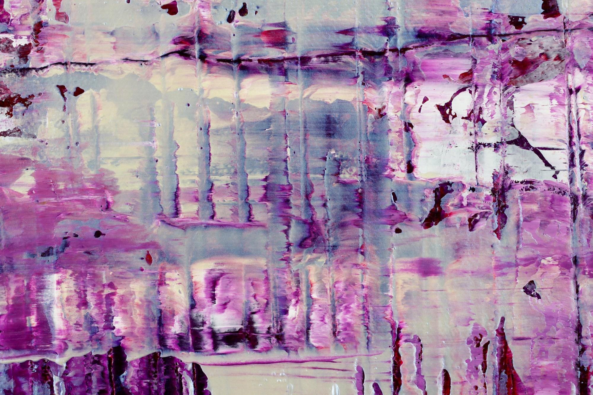 DETAIL / Purple Panorama (Changing Iridescent Blue) (2021) / Nestor Toro