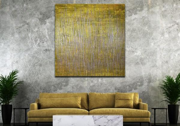 Somewhere in Between (Yellow and Gold) (2021) / Artist: Nestor Toro