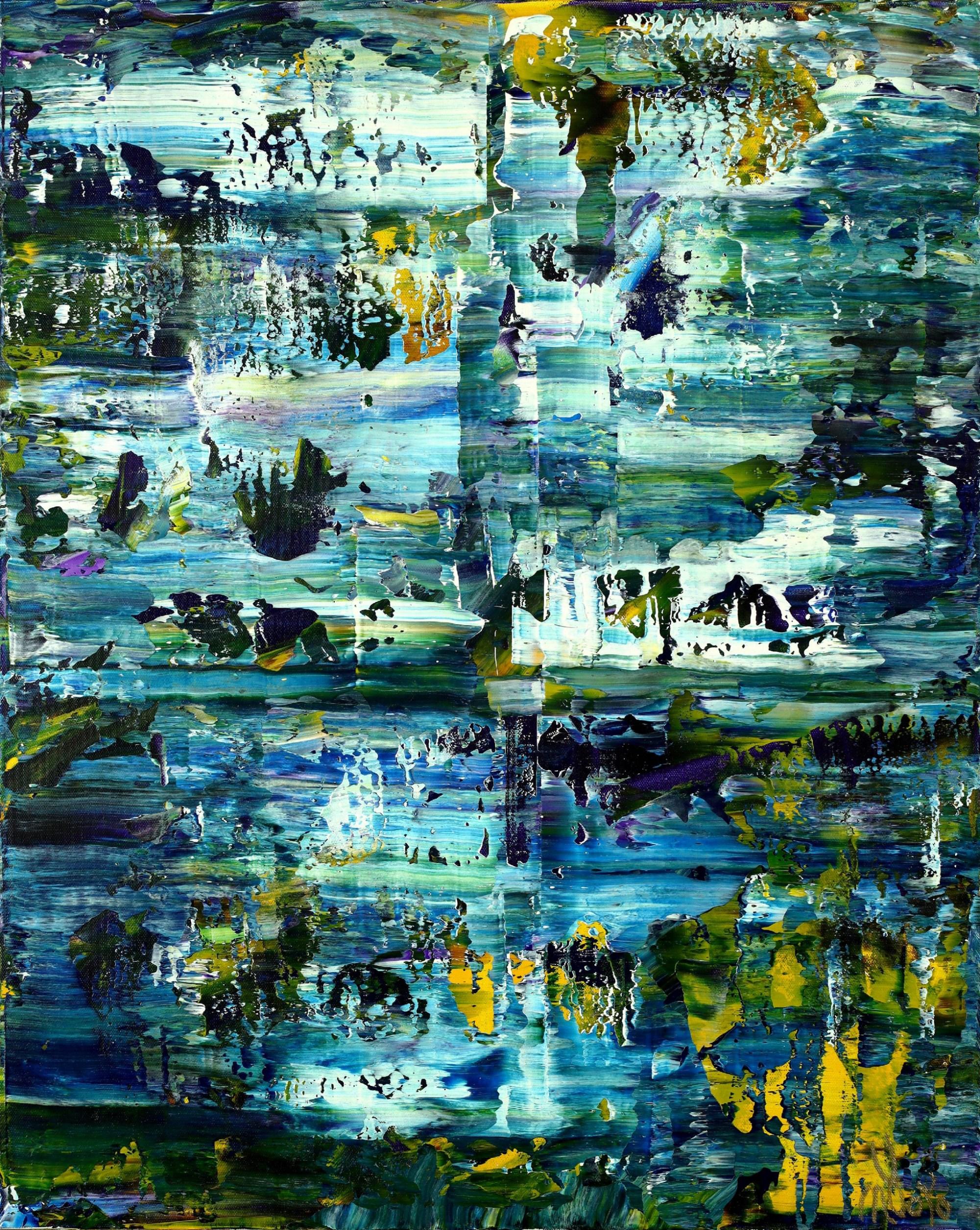 Under Water (Caribbean Ocean) (2021) / Artist: Nestor Toro