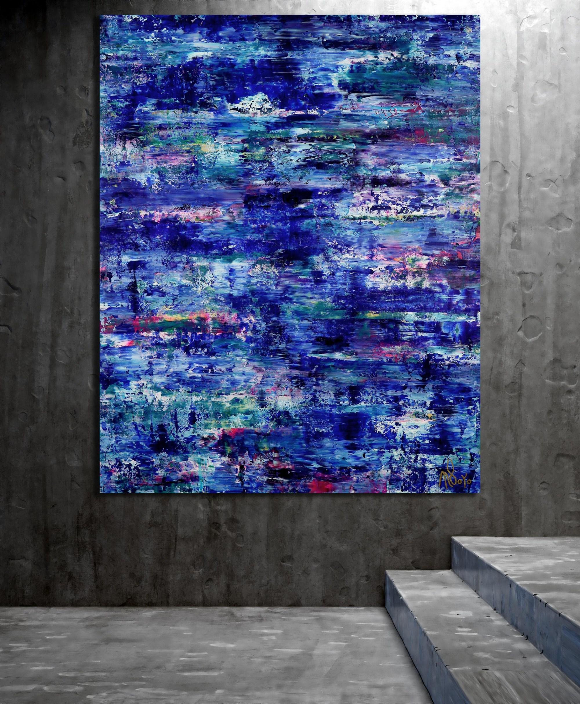 Room example / Caribbean Ocean Waters (2021) by Nestor Toro