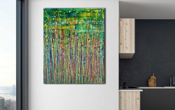 Caribbean Reflections 2 (2021) / 24 x 30 inches / Nestor Toro