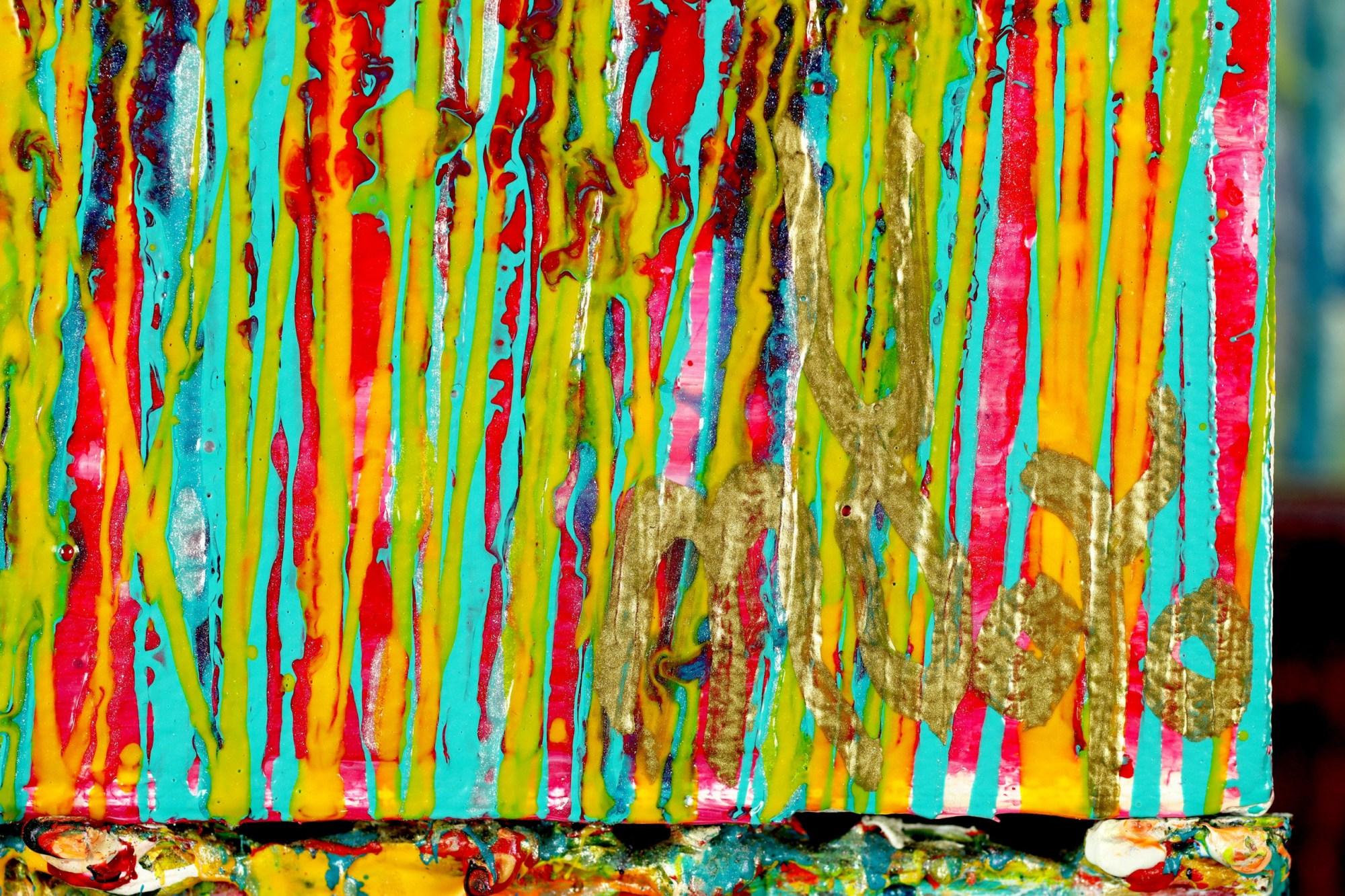 SIGNATURE / Caribbean Reflections 4 (2021) / Artist: Nestor Toro
