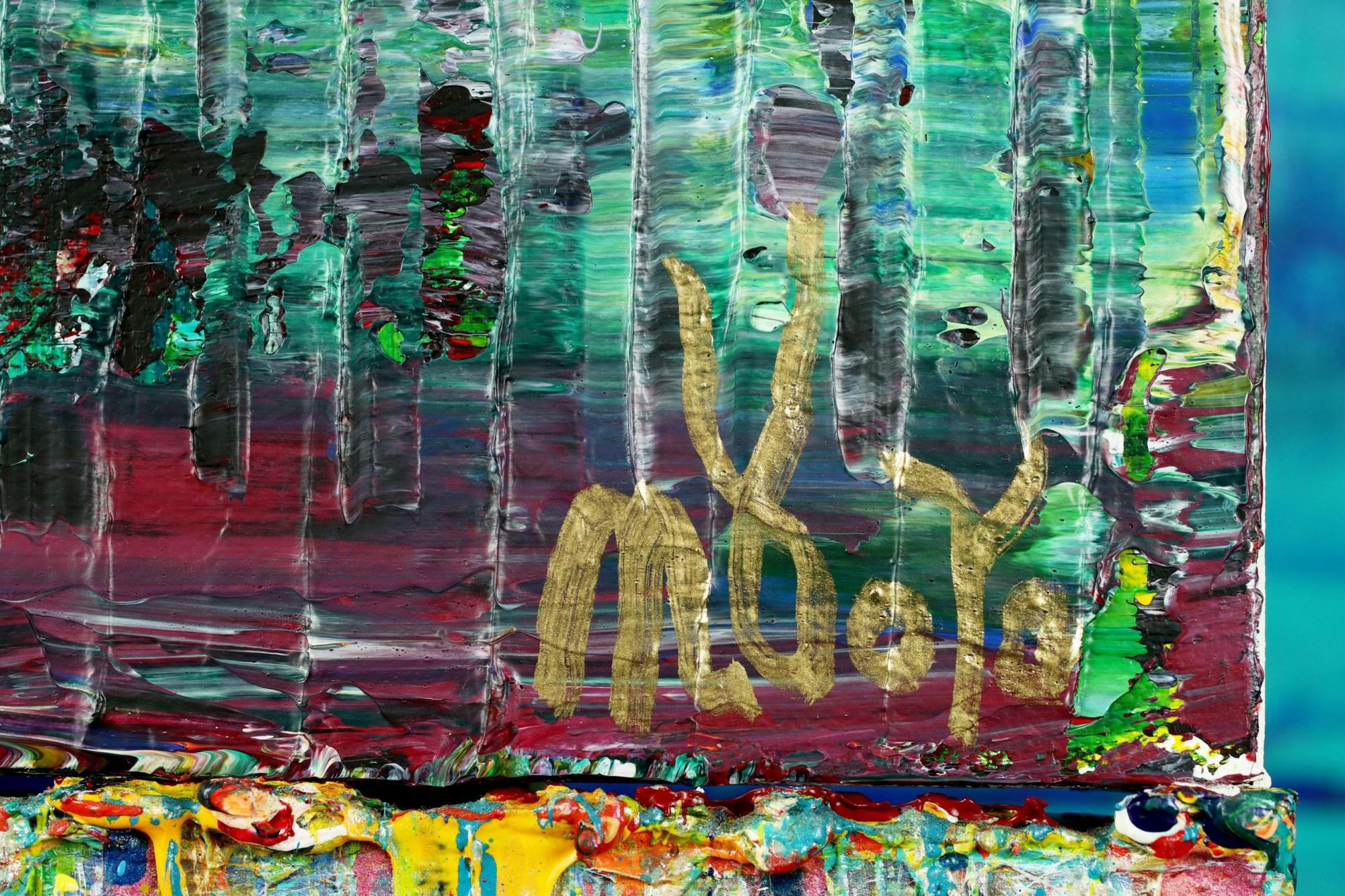SIGNATURE / A Matter of Nature 9 (Tropics Reflections) (2021) / Artist: Nestor Toro
