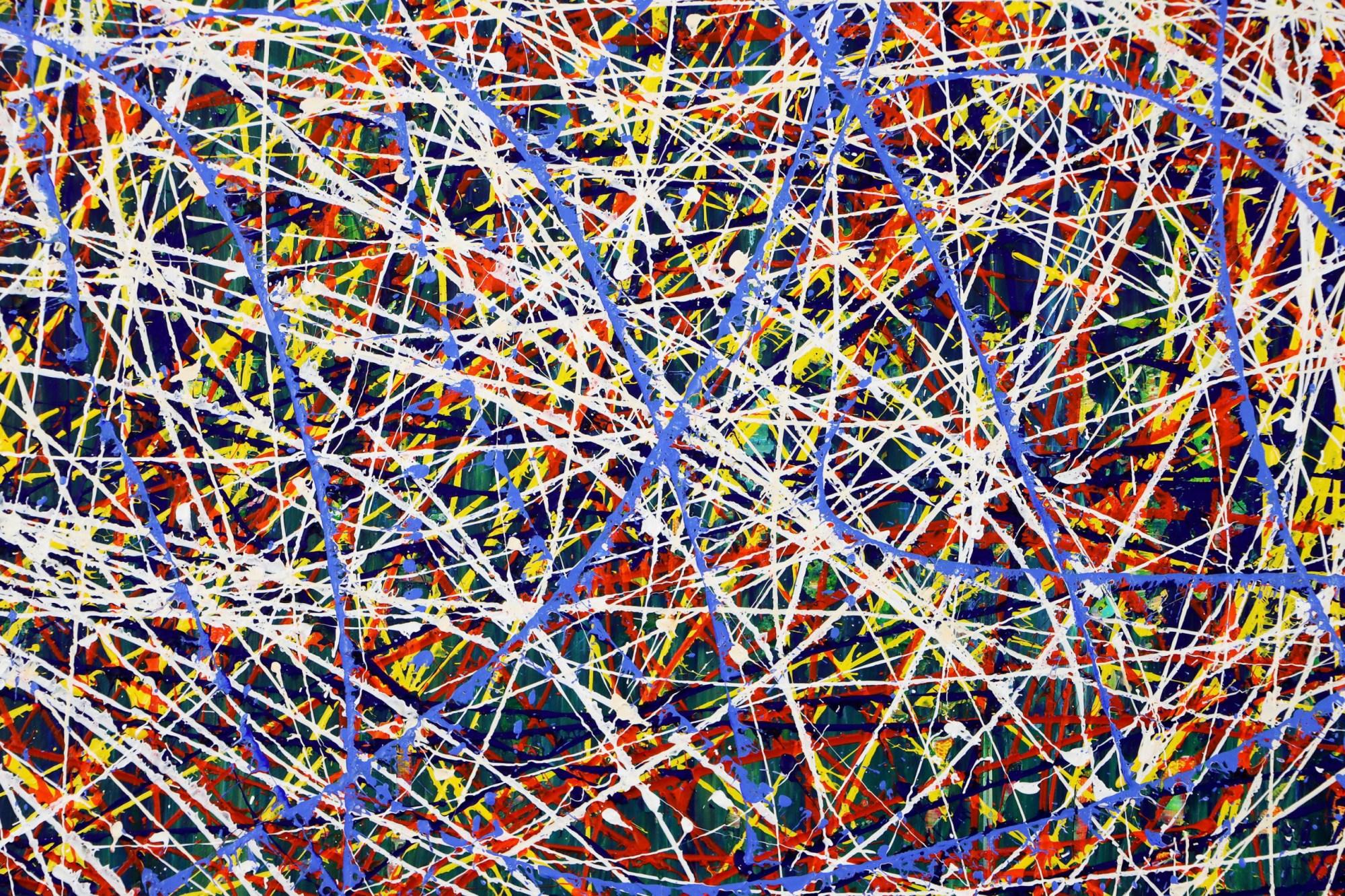 DETAIL / In constant motion (City life) 4 (2021) / Artist: Nestor Toro