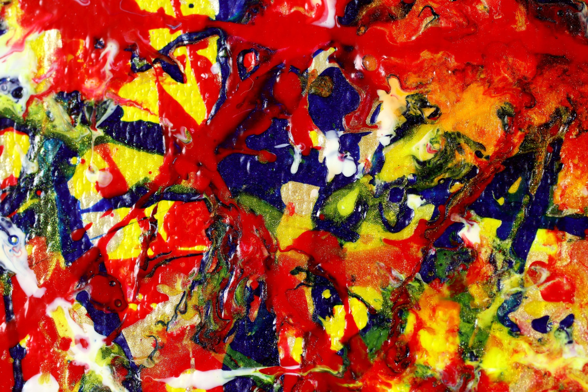 DETAIL / Colorful Display of Affection 3 (2021) / ARTIST: NESTOR TORO