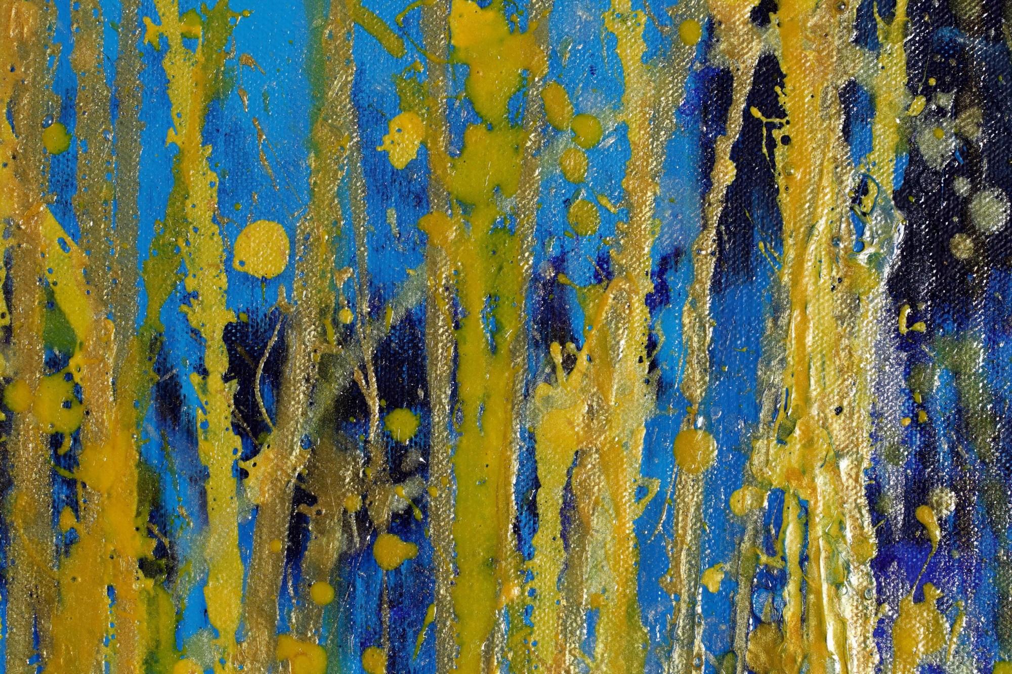 DETAIL / Thunder Silhouettes (Golden Spectra) 3 (2021) / ARTIST: Nestor Toro