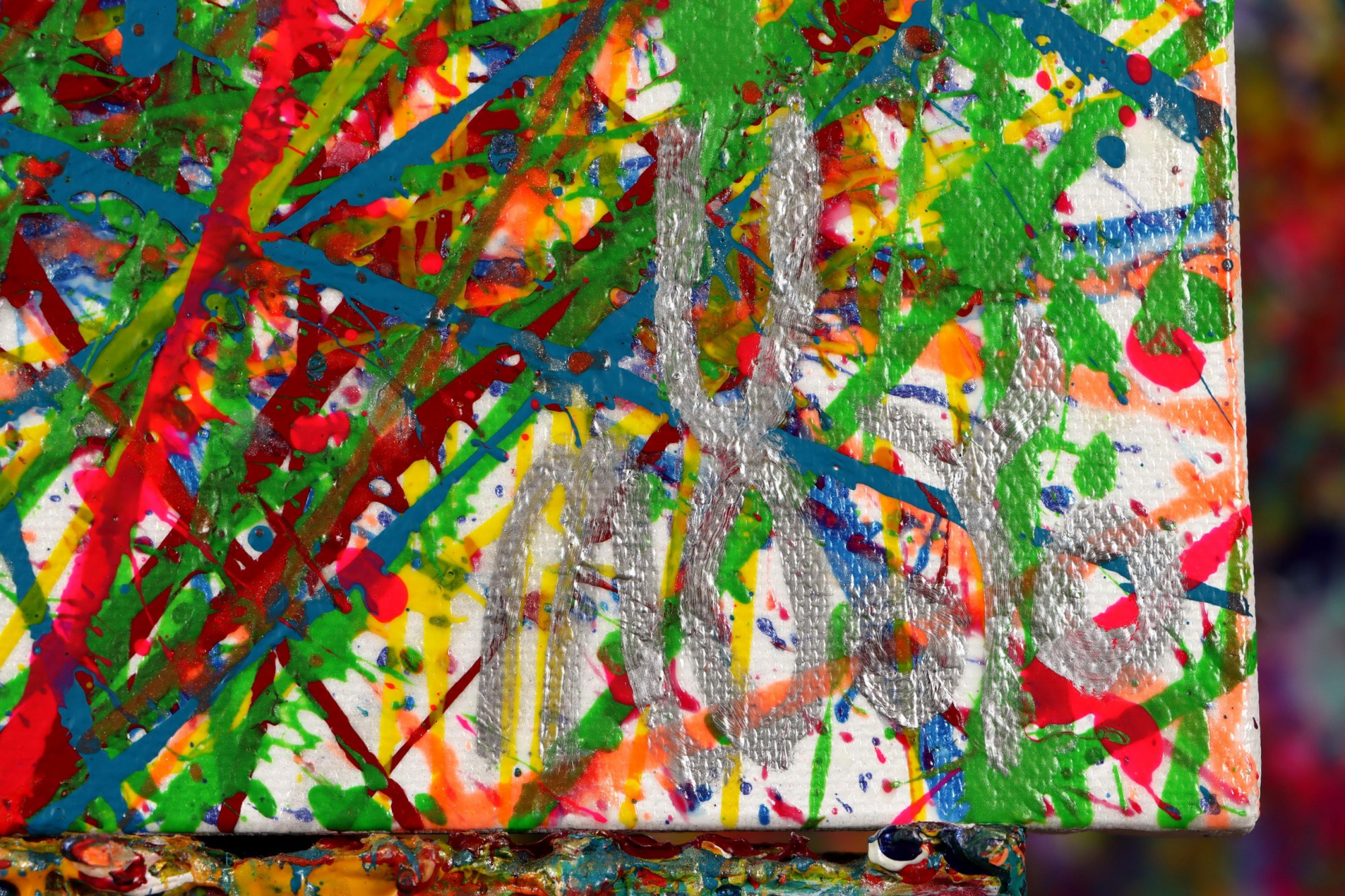 SIGNATURE / Colorful display of affection 2 (2021) / Diptych