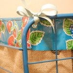 Easy project: how to make a folding shopping cart liner with leftover materials
