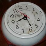 Here's an idea: rock an old clock
