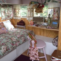 Salianne's camper interior