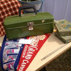 Vintage camping goods