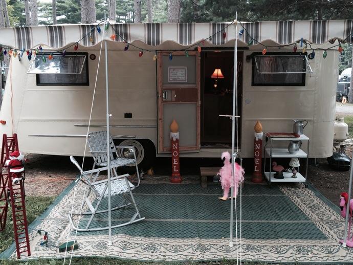 cute vintage trailer